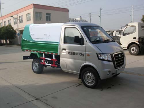 广汽吉奥密封自卸式垃圾车