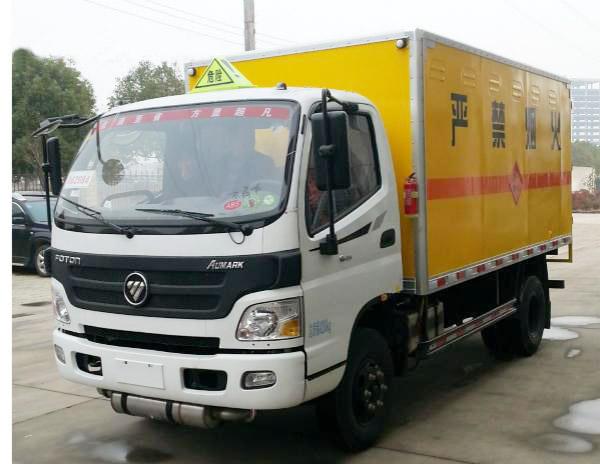 福田欧马可爆破器材运输车(4吨)