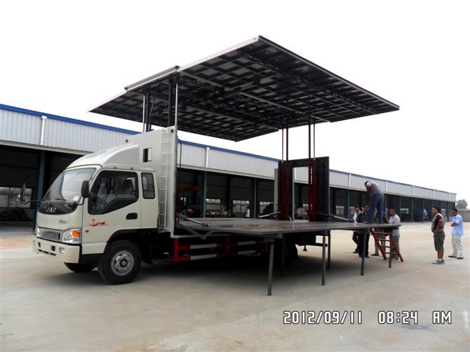 江淮24平米流动舞台车