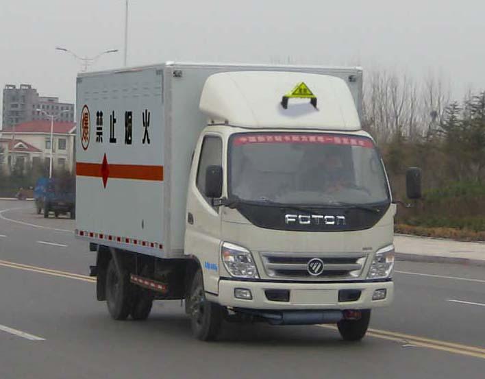 福田奥铃爆破器材运输车(3吨)