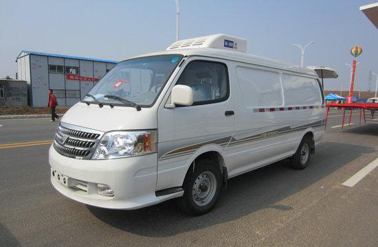 福田风景冷藏车(国四面包冷藏车)