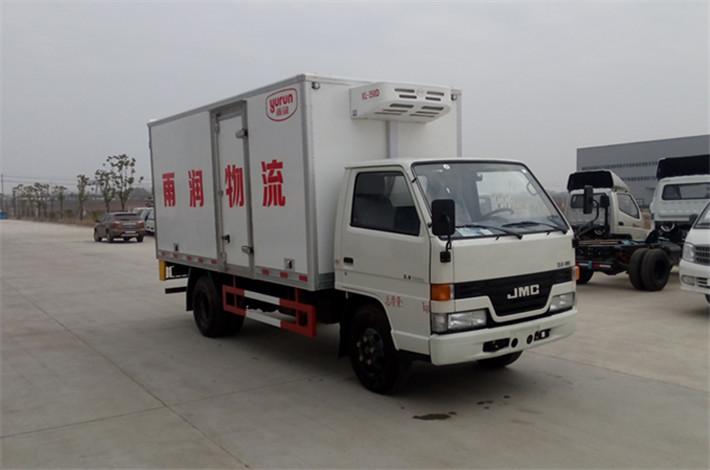 江铃4.2米蓝牌冷藏车