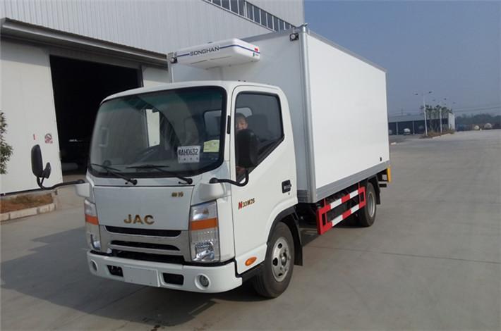 江淮帅铃宽体4.2米冷藏车
