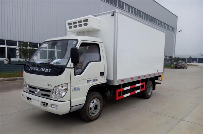 福田领航4.2米冷藏车