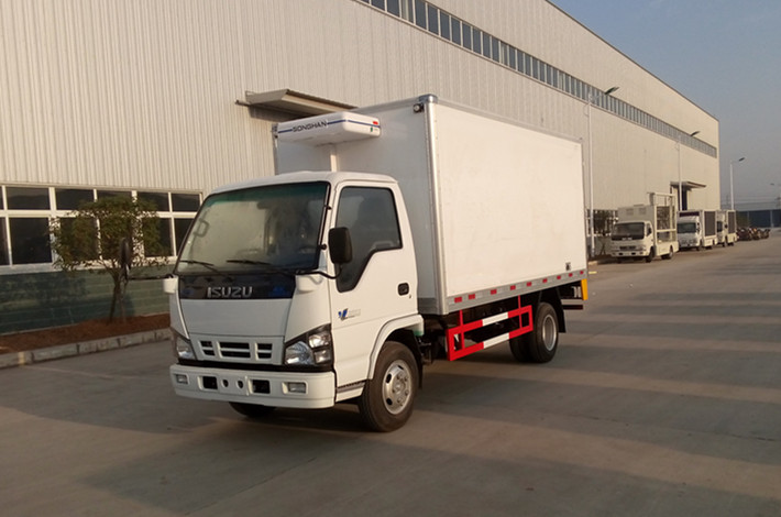 五十铃600P4.2米冷藏车