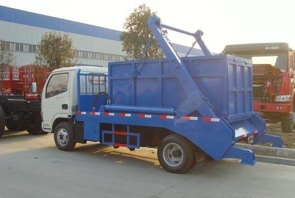 东风小型摆臂式垃圾车