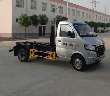 广汽吉奥车厢可卸式垃圾车(勾臂式垃圾车)