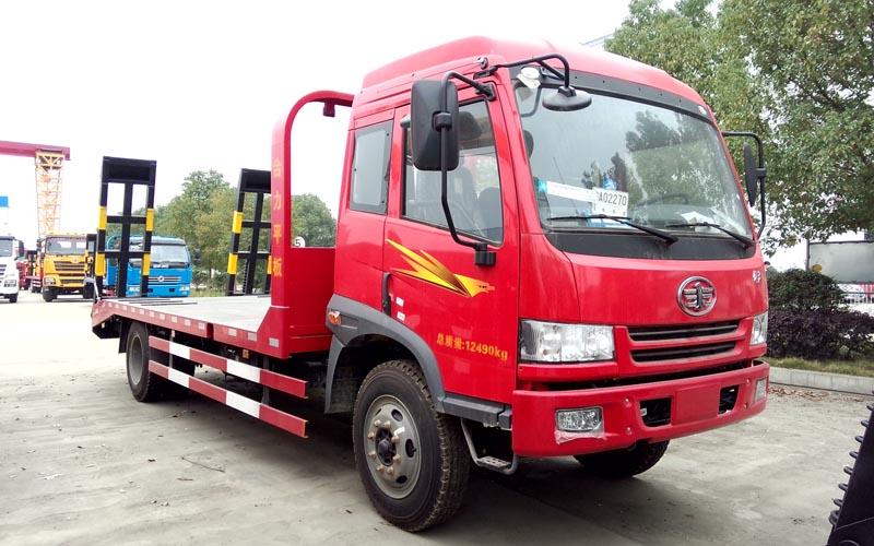 解放平板运输车(国四)
