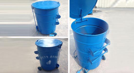 圆锥形脚踏式垃圾桶