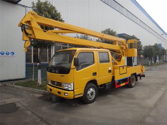 东风锐铃12-16米高空作业车