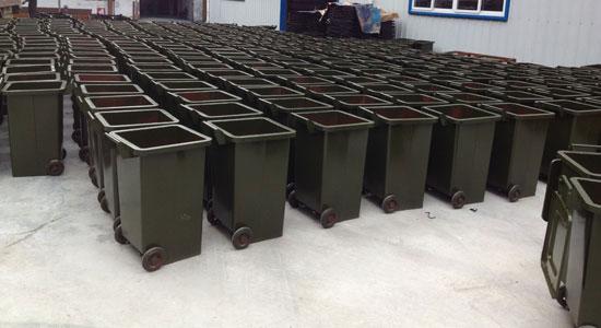 120L四方形铁桶