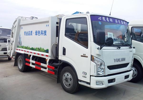 跃进帅虎压缩垃圾车(5方)