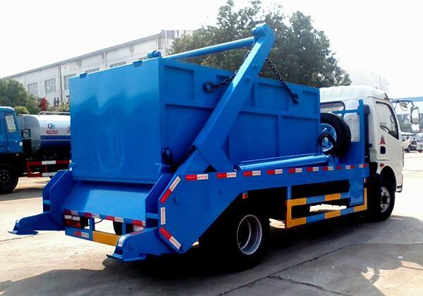 (5方)东风多利卡摆臂垃圾车