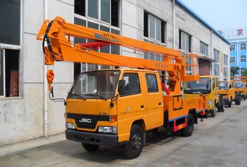 江铃顺达12-16米高空作业车