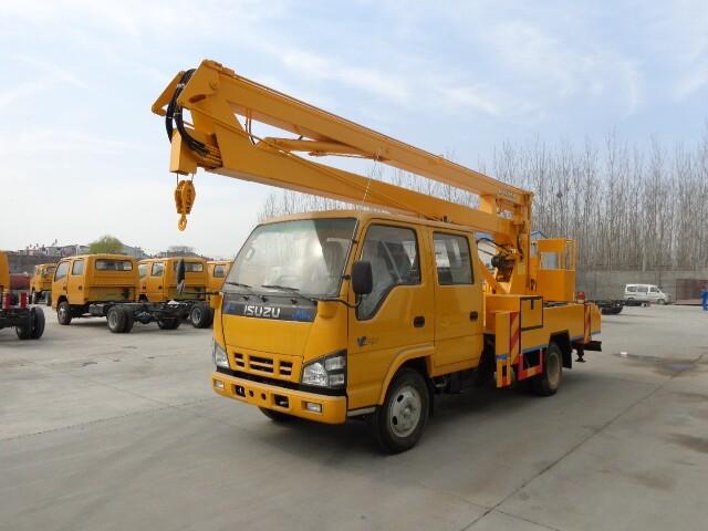 五十铃12-16米高空作业车(600P)