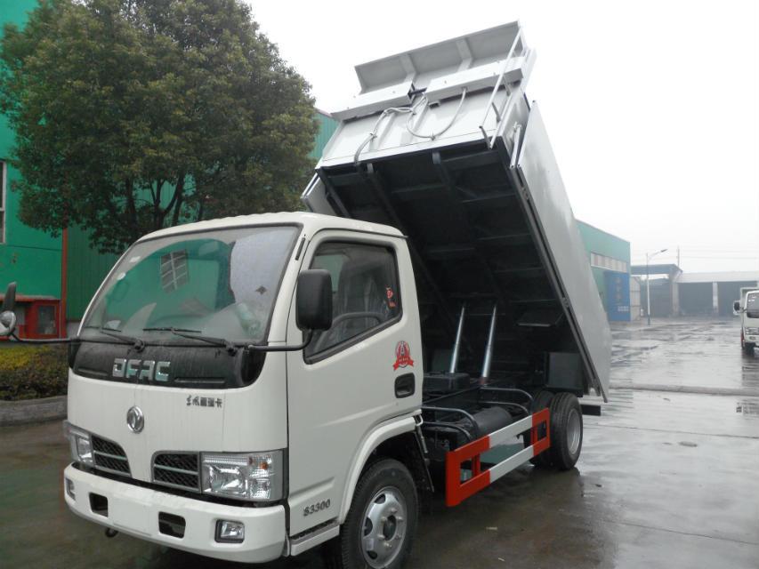 小霸王小型自卸垃圾车
