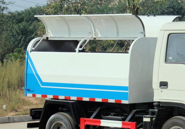 (3方柴油)凯马密封自卸垃圾车
