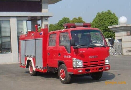 五十铃2吨水罐消防车