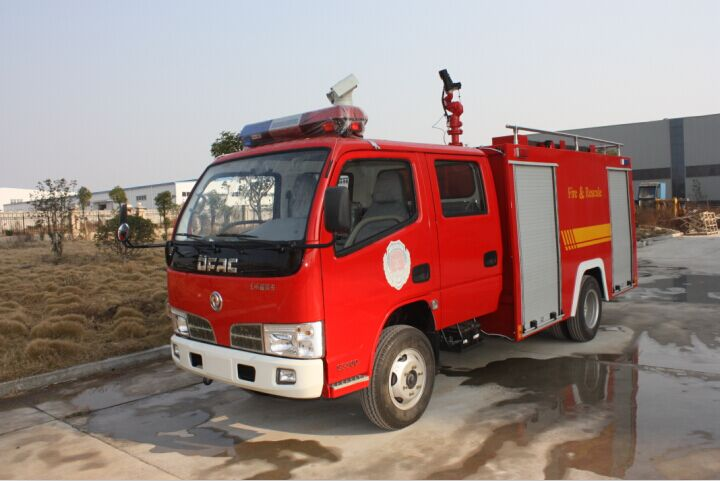 东风福瑞卡水罐消防车(2.5吨)