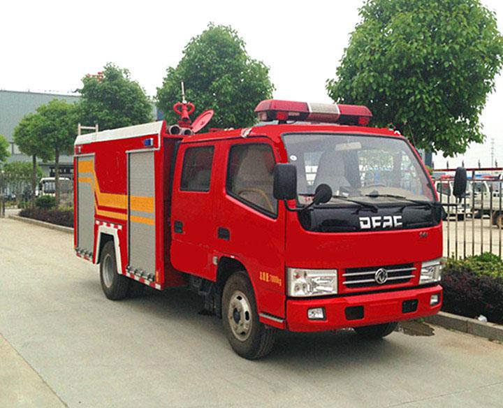 东风锐铃水罐消防车(2.5吨)