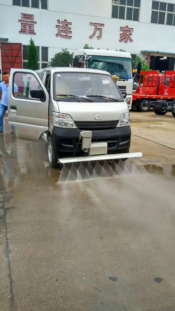 厦门用户在我厂订购长安人行道冲洗养护车顺利交付