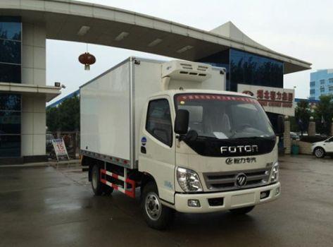 采用康明斯系列发动机的福田奥铃冷藏车优势分析