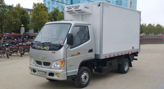 唐骏欧铃3.1米双燃料冷藏车
