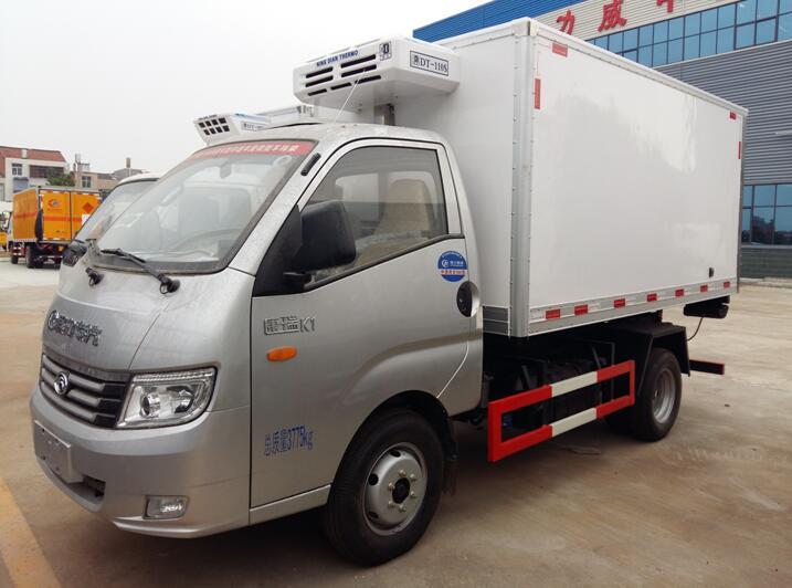 福田康瑞K1双燃料冷藏车(汽油/NG)