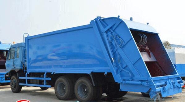 东风16-18吨后装式压缩垃圾车