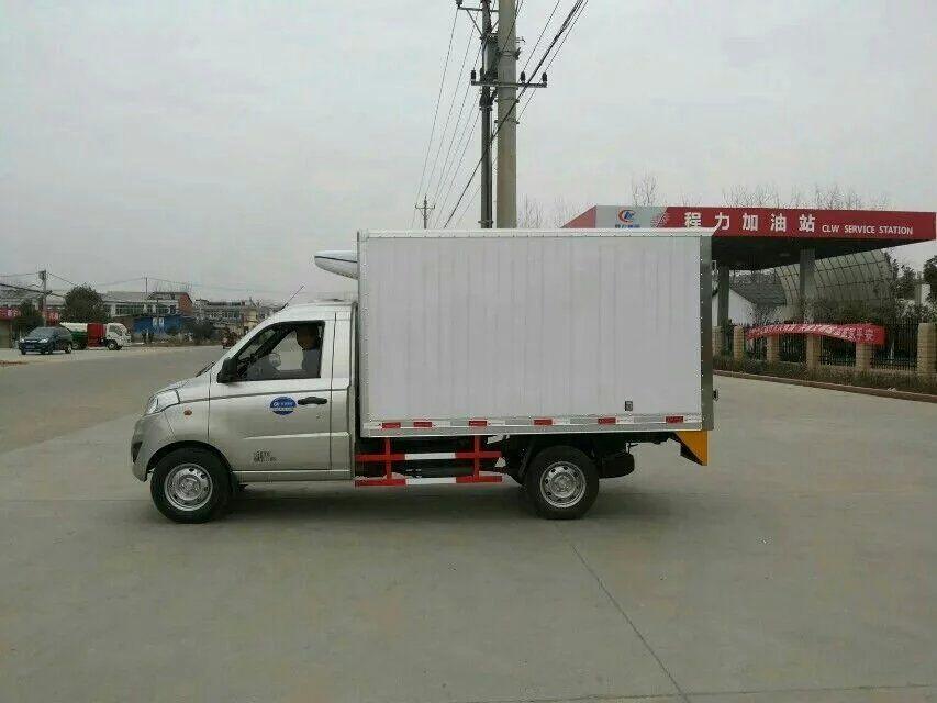 福田伽途国五冷藏车
