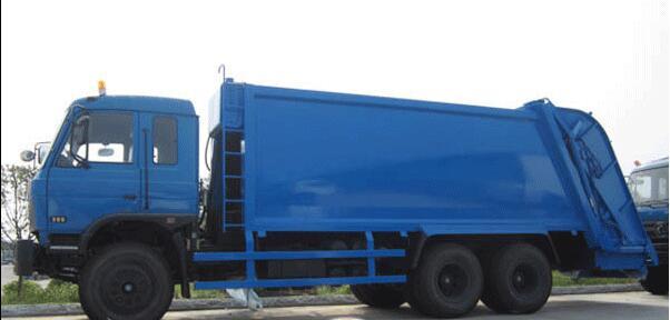 东风16-18吨压缩式垃圾车