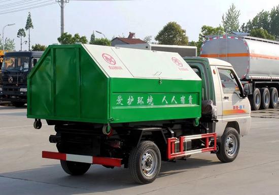 凯马国五勾臂式垃圾车(2.5立方)