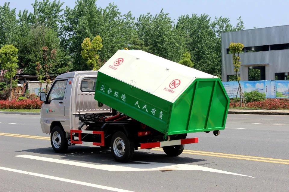 凯马双燃料勾臂式垃圾车(国五)
