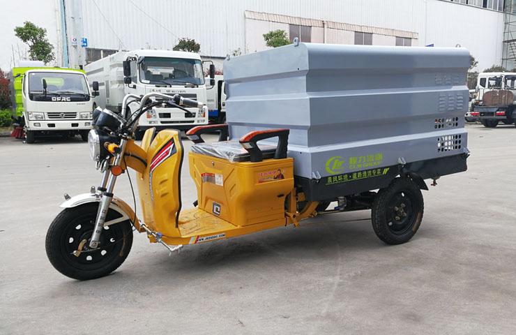 人行道、单行道清洁好帮手——电动三轮清洗车