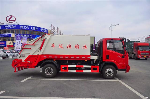 大运压缩式垃圾车(6方)