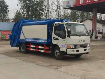 江淮骏铃压缩式垃圾车(8方)