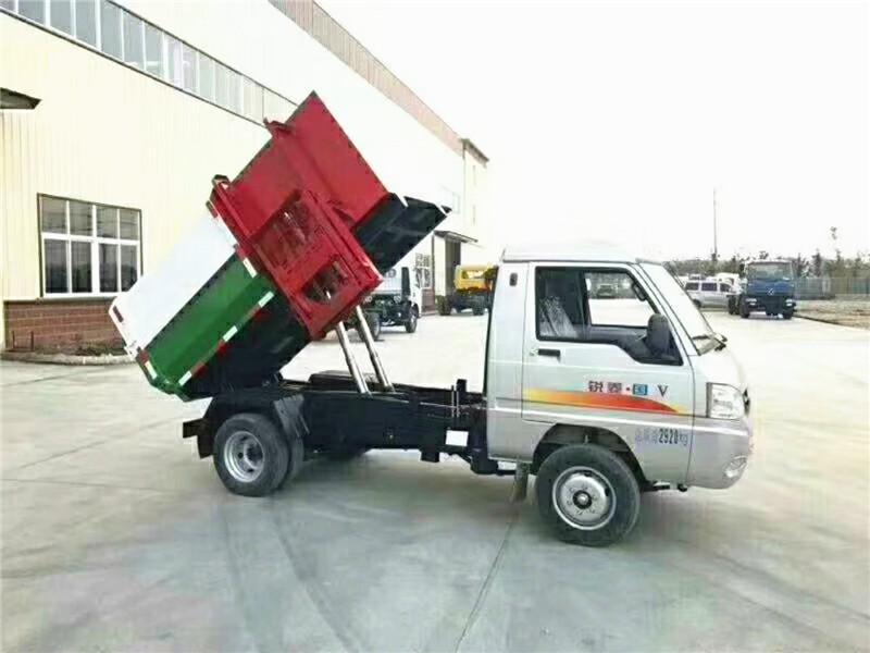 凯马挂桶式垃圾车图片