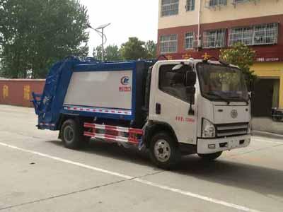 解放虎V压缩式垃圾车(6方)