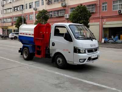 东风途逸挂桶式垃圾车