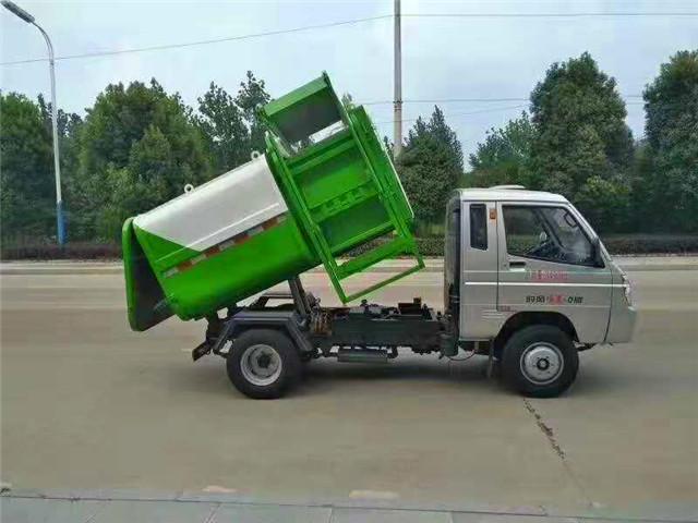 时风汽油版挂桶式垃圾车(3方)
