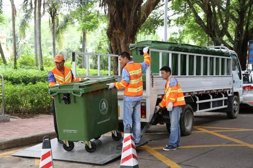 垃圾分类收集有新招——桶装垃圾运输车解决垃圾分类收集难题