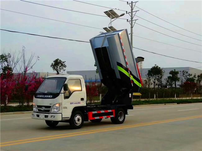 新型垃圾转运车首亮相湖北程力