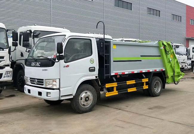可用于地下车库垃圾车——东风6方地下车库压缩式垃圾车