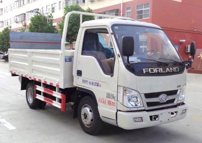 福田小卡之星2桶装垃圾运输车