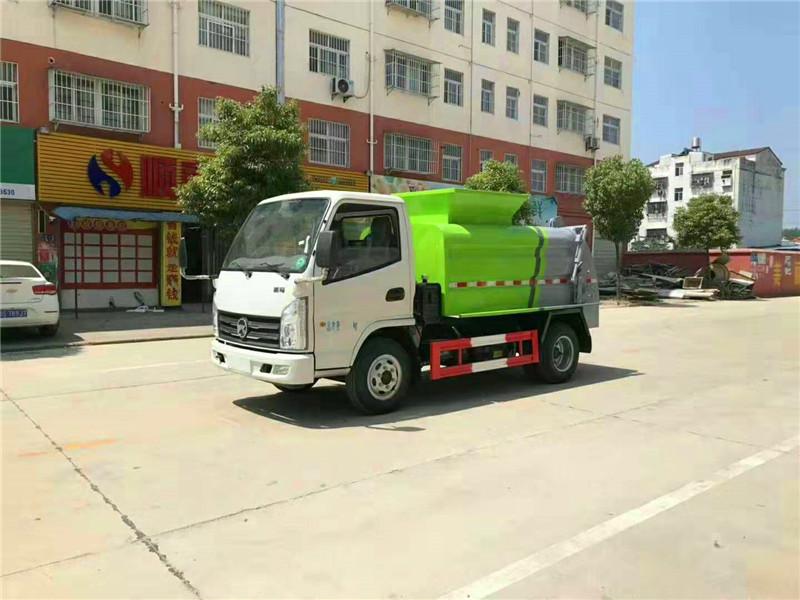 市面上最火爆的蓝牌餐厨垃圾车:凯马蓝牌餐厨垃圾车
