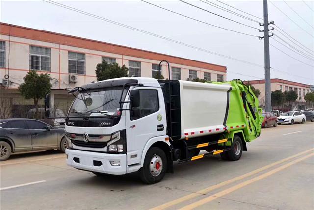 高端东风凯普特8方压缩式垃圾车介绍
