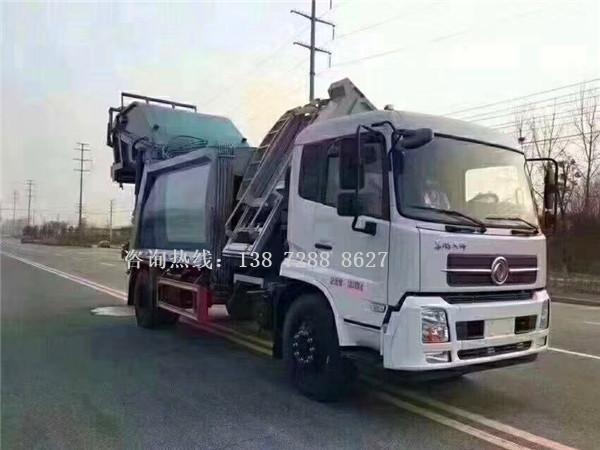 东风天锦分捡垃圾运输车