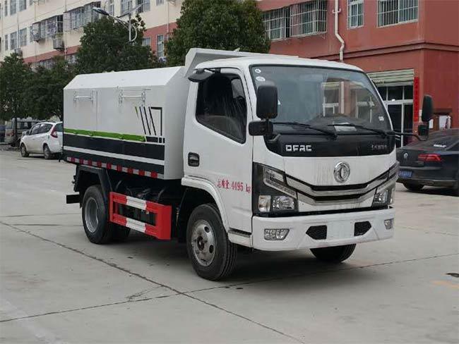 国六东风小多利卡厢式垃圾车