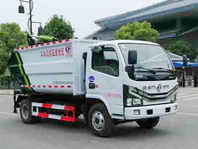 国六东风D6自装卸式垃圾车