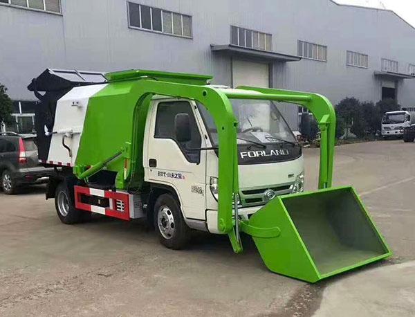 新型垃圾转运车上市,等你解锁多样功能用途